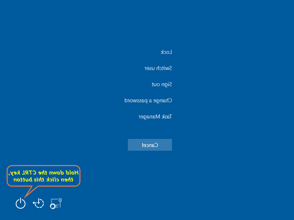 How to force quit windows 10