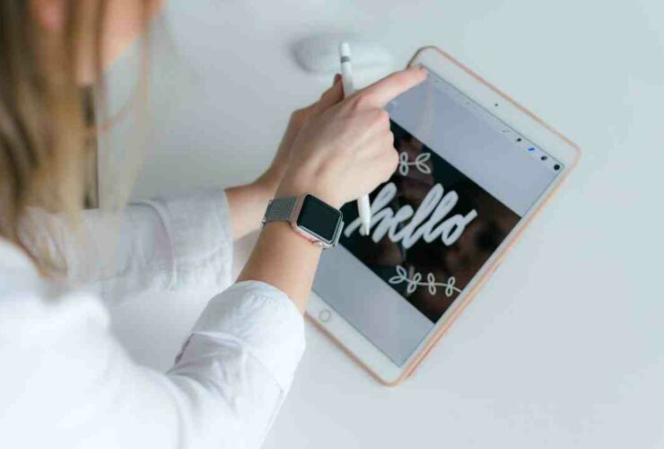 How to lock ipad screen from touch