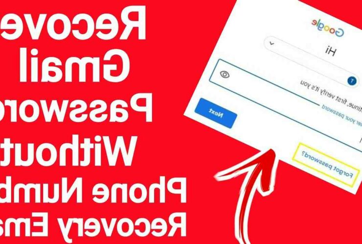 How can I recover my Gmail password without phone number and email?