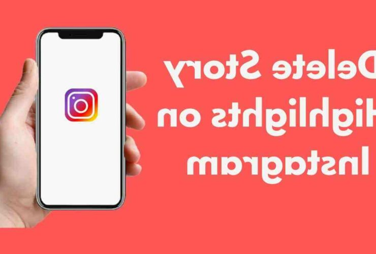 How to delete highlights on instagram