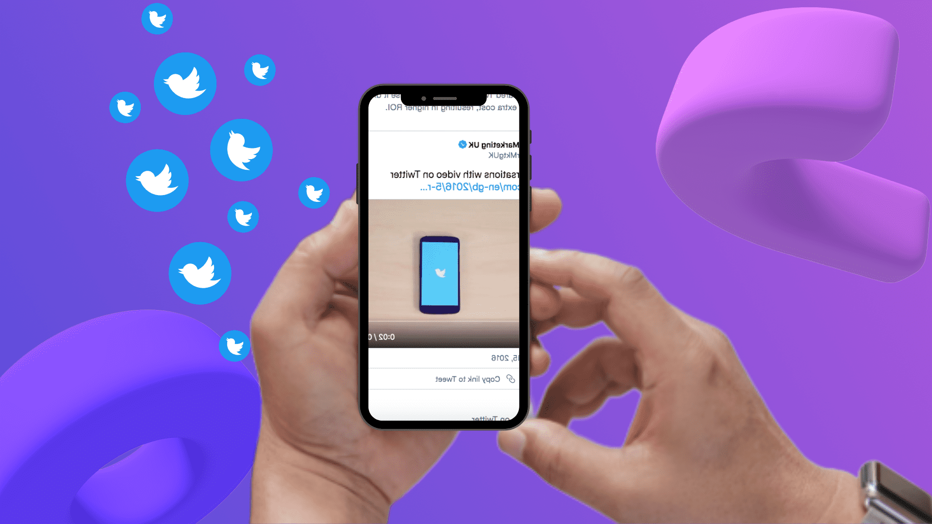 How to post video to twitter