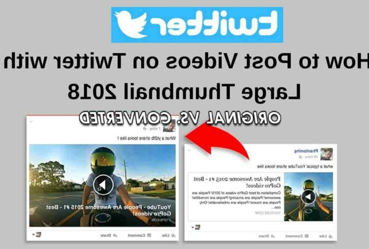 How to share a youtube video on twitter