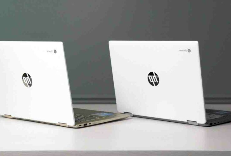 What is difference between HP laptop and Chromebook?